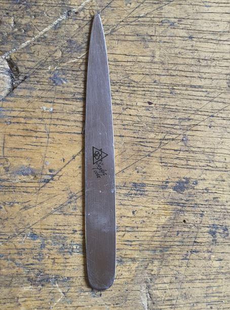 Ferramenta de Mão em Aço Inox, formato gota