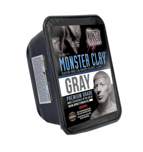 Monster Clay Cinza Medium