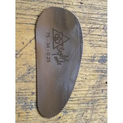 Slick em aço inox - ST-75-34-BL