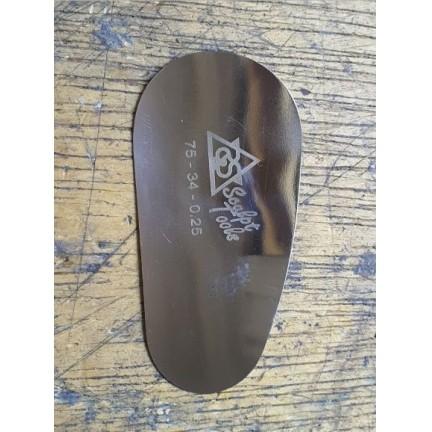 Slick em aço inox - ST-75-34-SBL