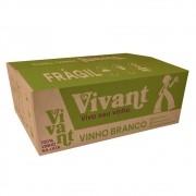 Caixa com 24 Vinhos Brancos em Lata Vivant 269ml