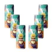 Kit com 6 Frisantes Moscato em Lata Vivant Wines 269ml