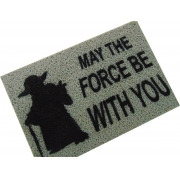 TAPETE CAPACHO 'MAY THE FORCE BE WITH YOU'