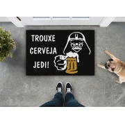 TAPETE CAPACHO TROUXE CERVEJA STAR WARS
