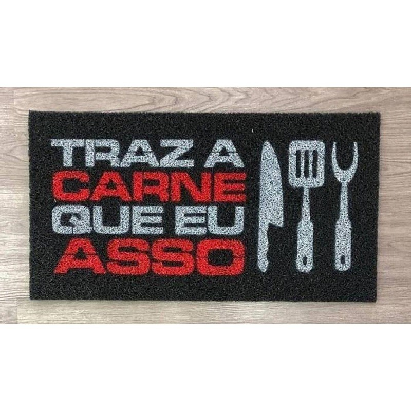 Tapete Capacho Churrasco 40x60