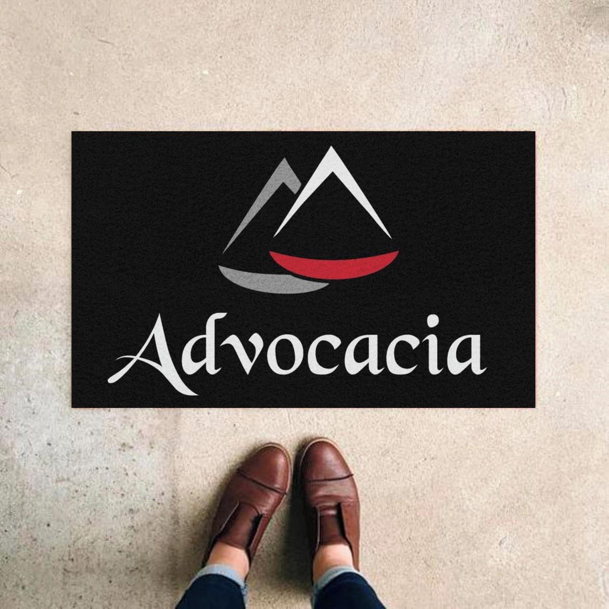 TAPETE CAPACHO 'ADVOCACIA'