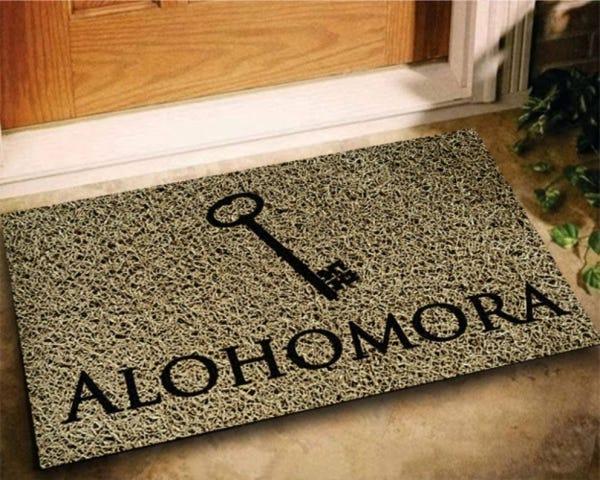 Tapete Capacho Alohomora