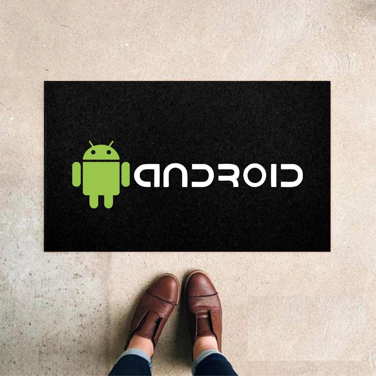 Tapete Capacho 'Android'