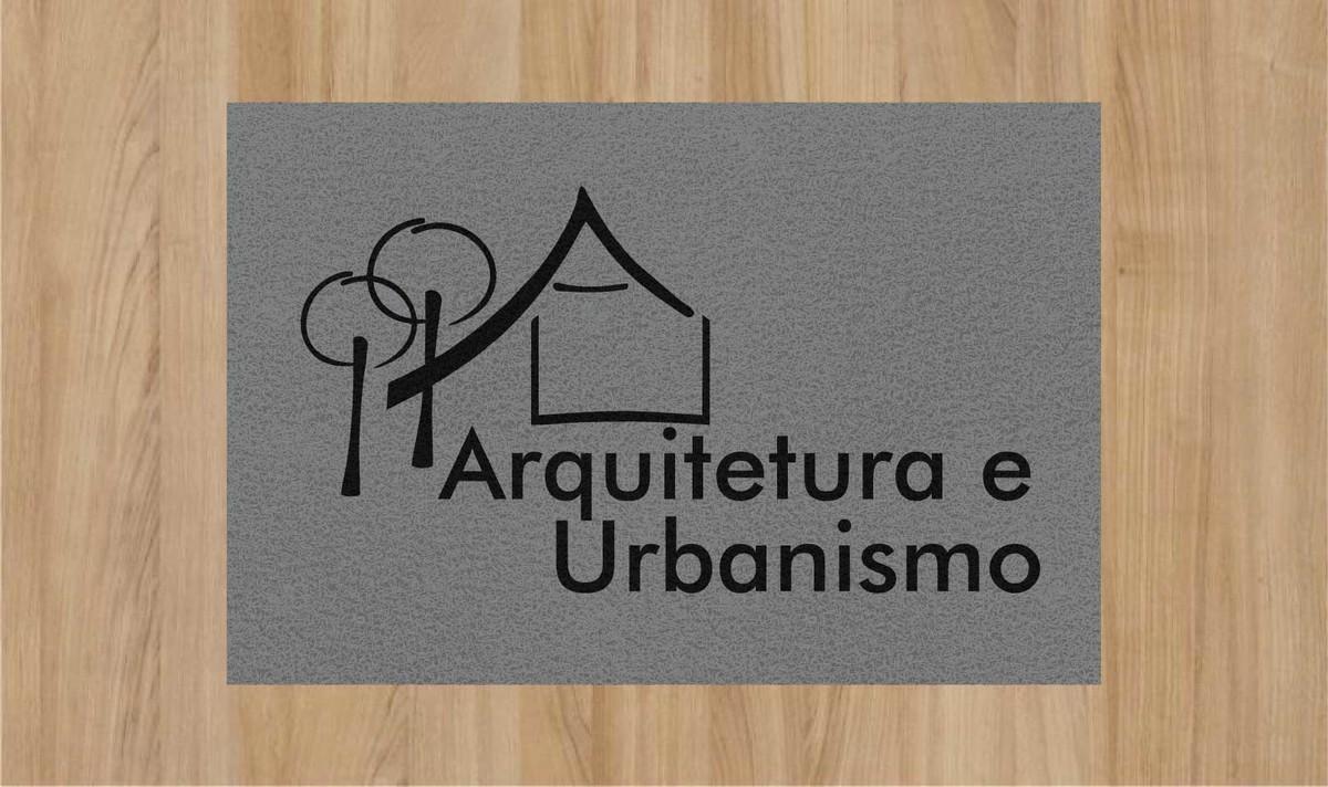 TAPETE CAPACHO 'ARQUITETURA E URBANISMO'