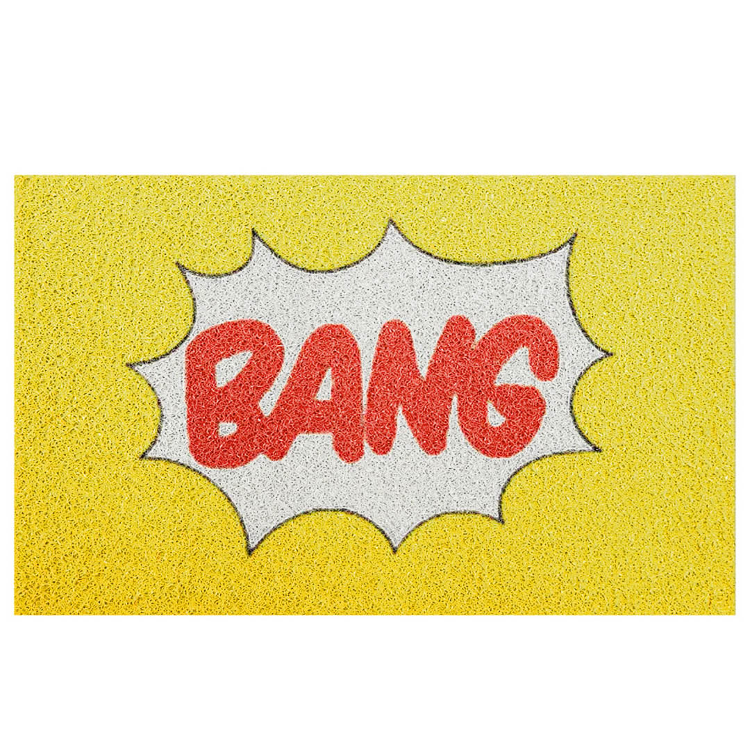 Tapete Capacho 'Bang'