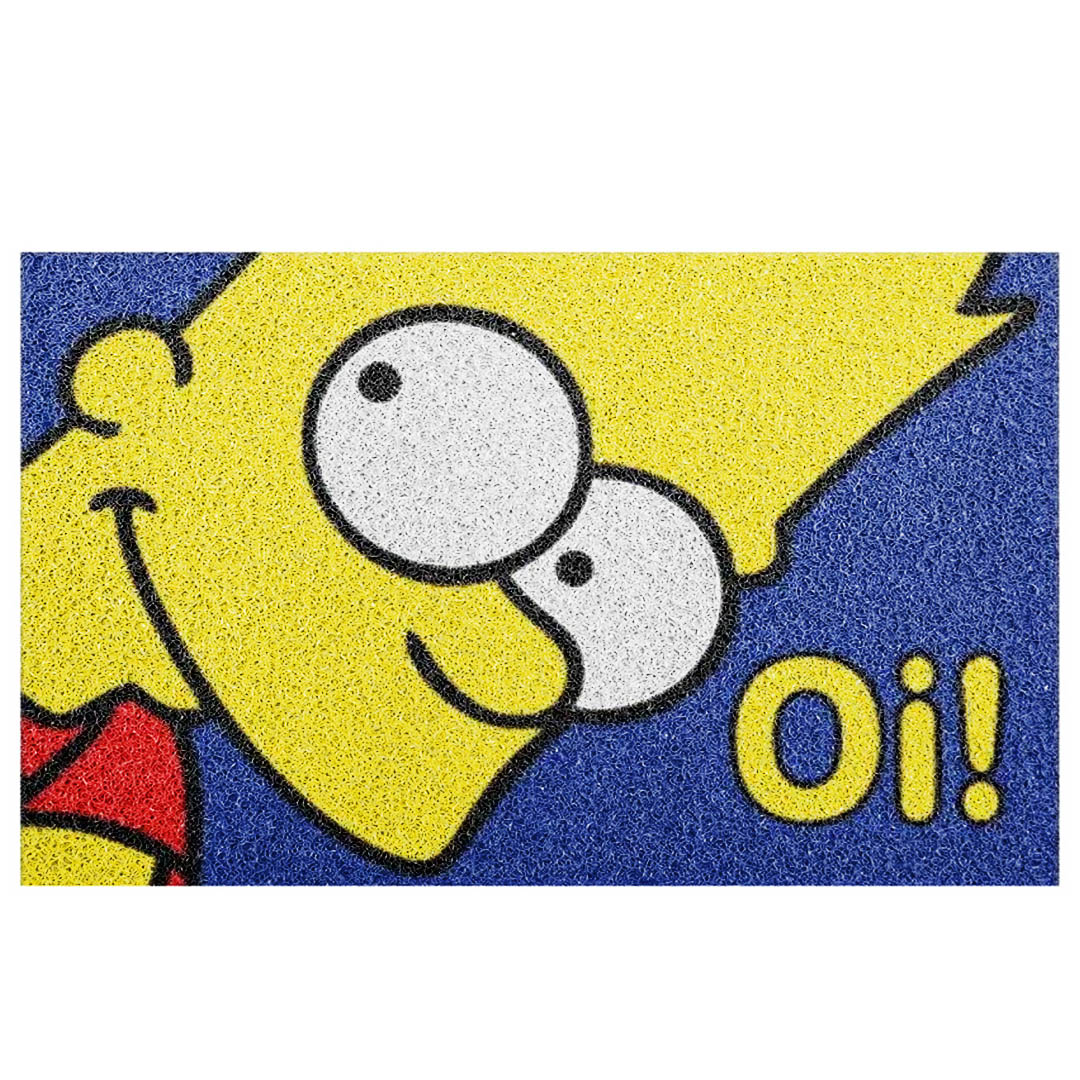 Tapete Capacho Bart Simpsons Oi