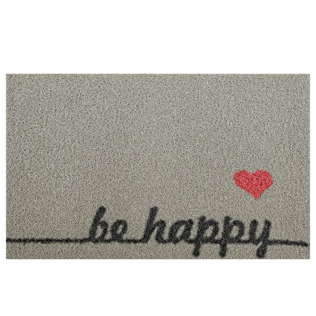Tapete Capacho 'Be Happy'