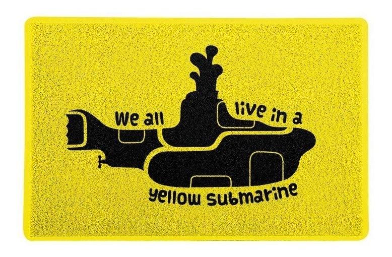 Tapete Capacho beatles 'Yellow Submarine'