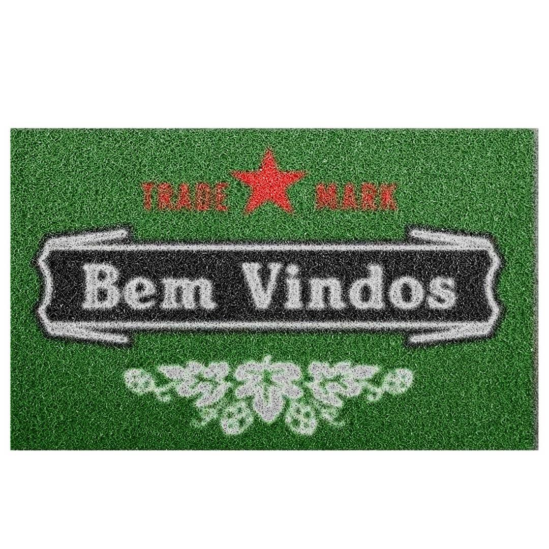Tapete Capacho Bem Vindo Heineken