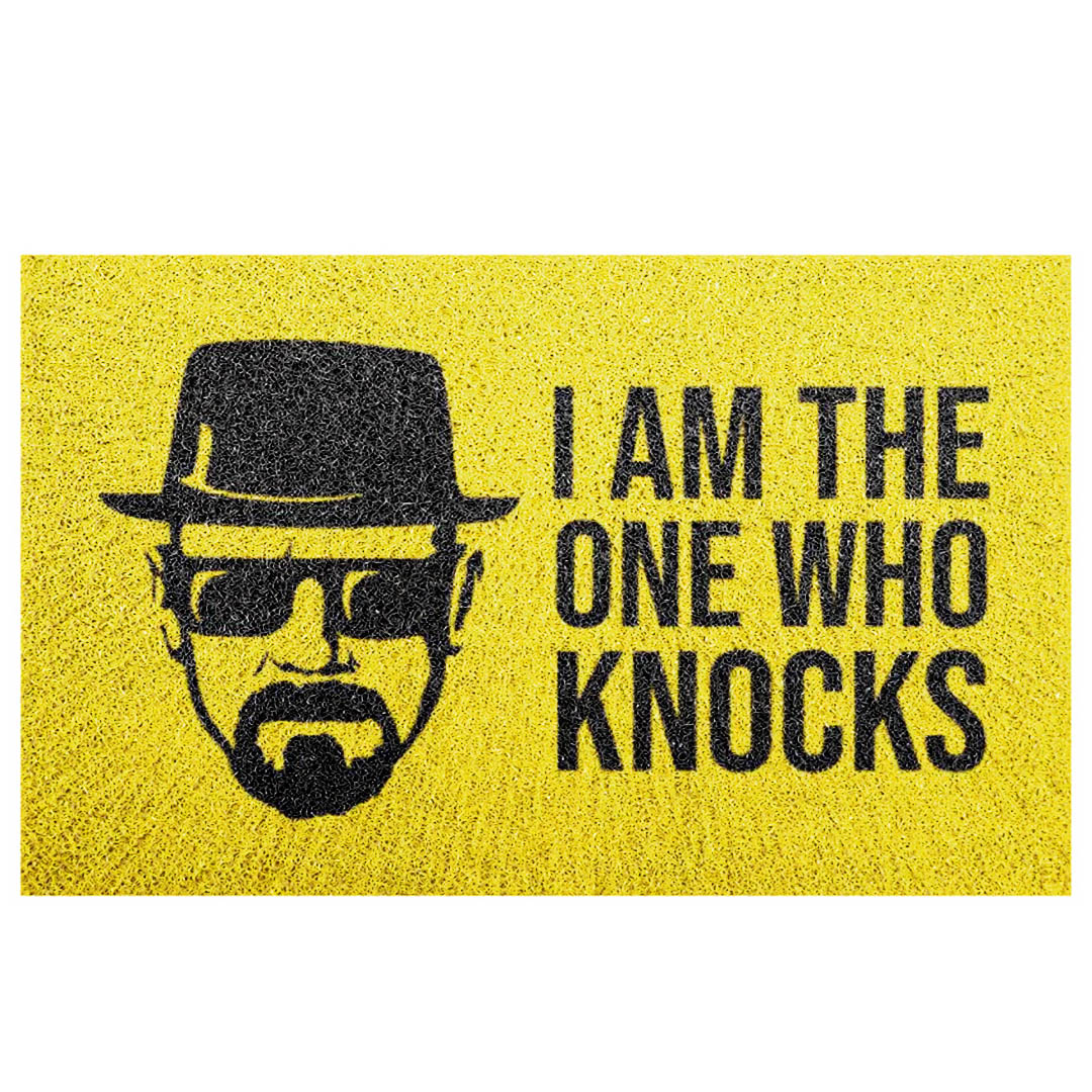 Tapete Capacho Breaking Bad 'I Am The One Who Knocks'