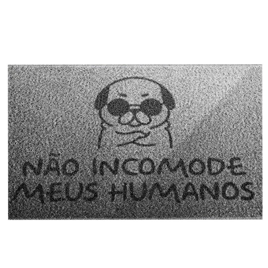 Tapete Capacho Cachorro ' Não Incomode Meus Humanos'