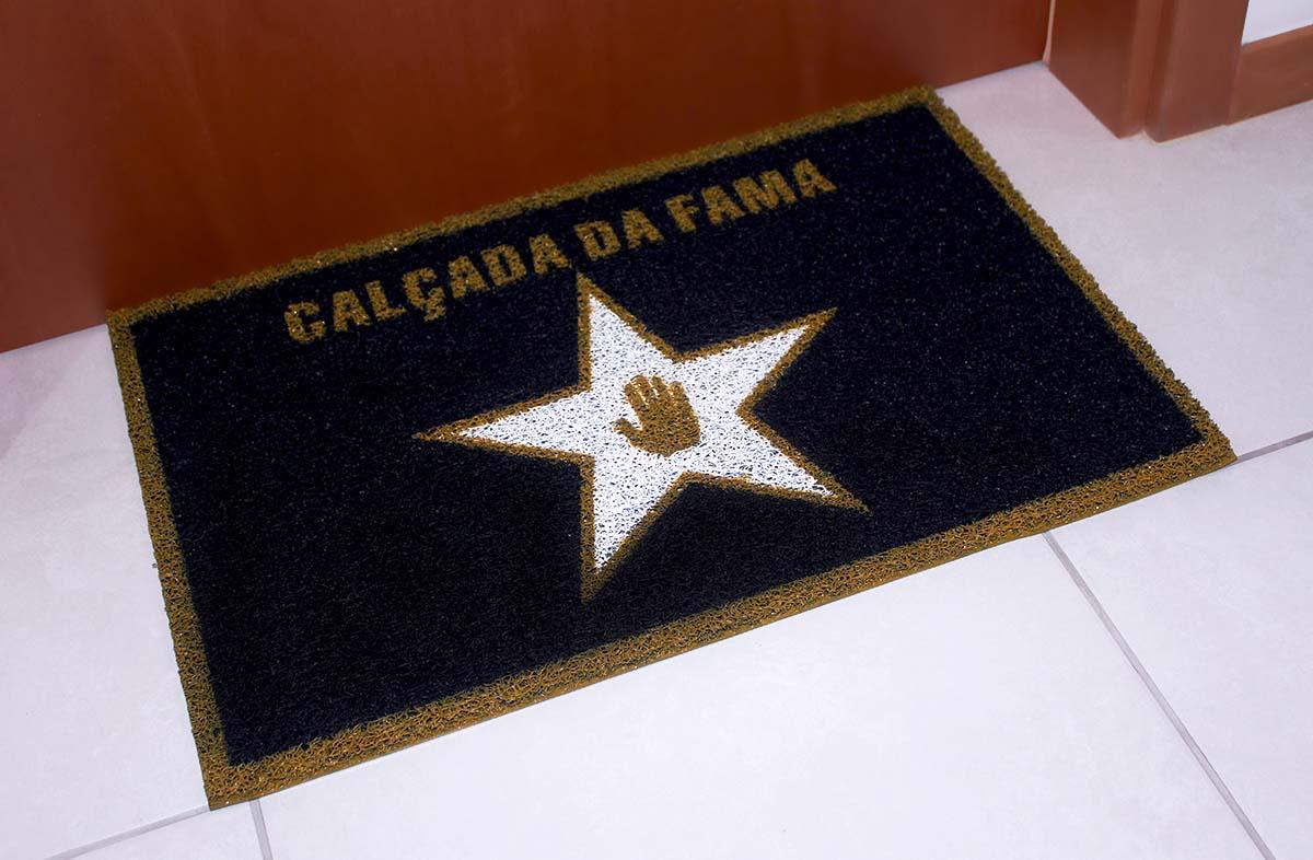 Tapete Capacho 'Calçada Da Fama'