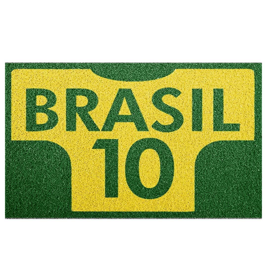 Tapete Capacho Camisa 10 Brasil