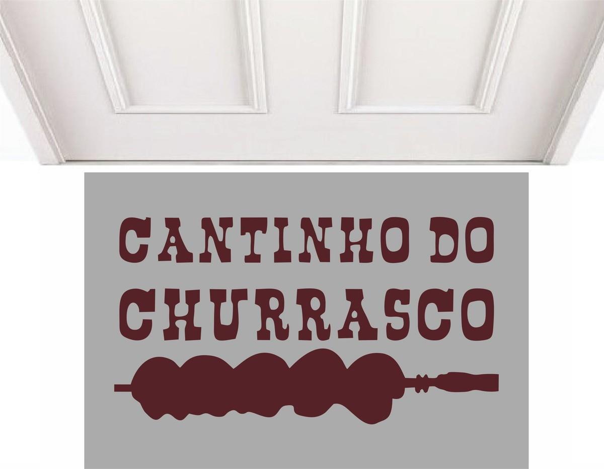 Tapete Capacho Cantinho Do Churrasco