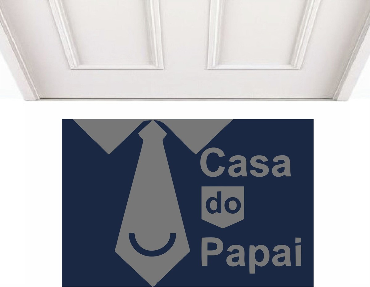 TAPETE CAPACHO 'CASA DO PAPAI''