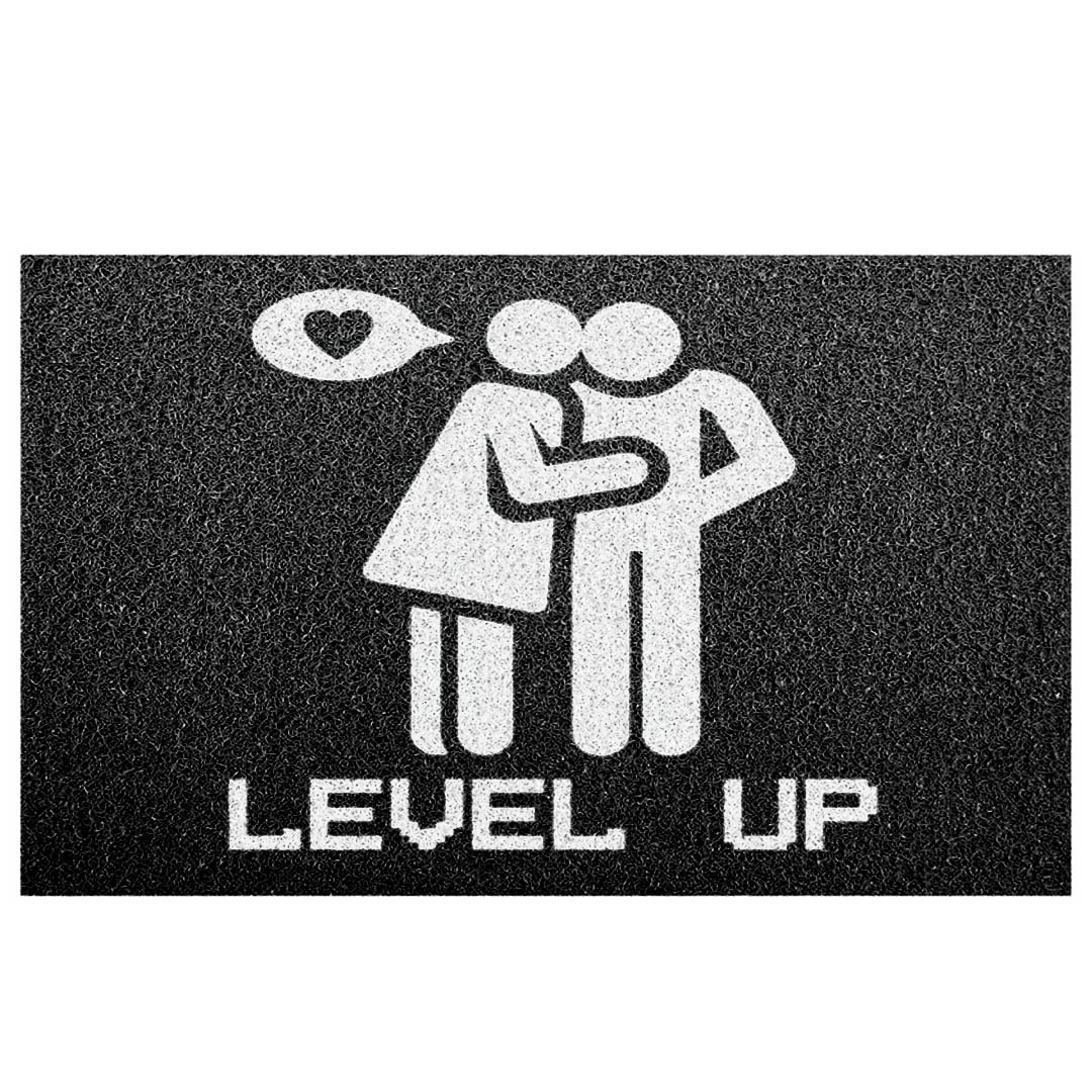 """Tapete capacho """"Casal level up"""""""
