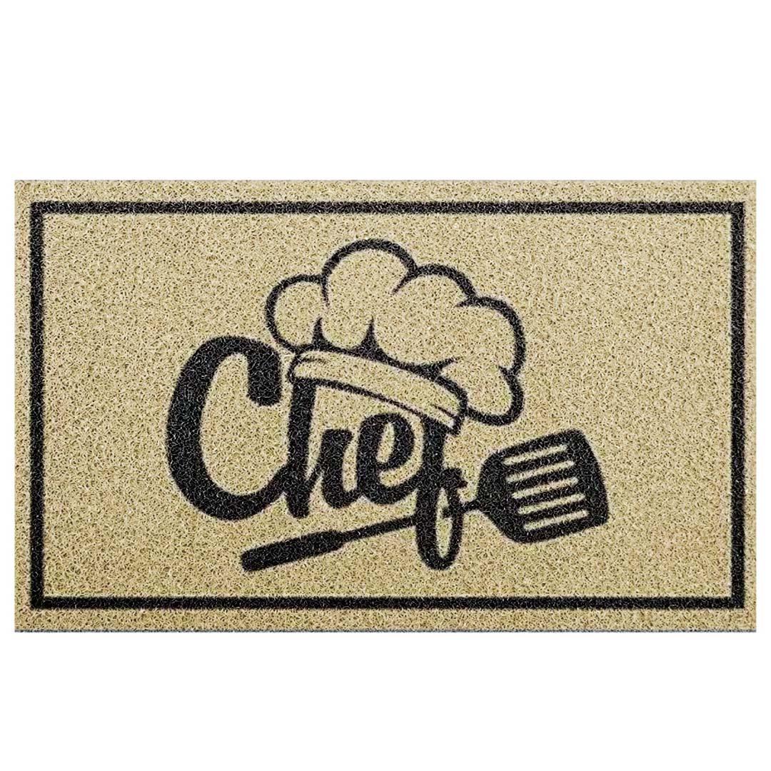 Tapete Capacho Chef De Cozinha