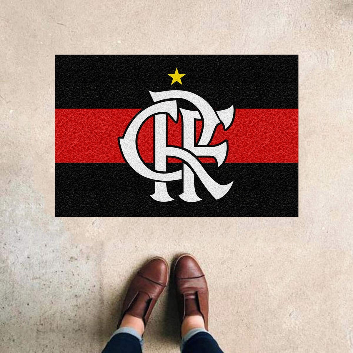 TAPETE CAPACHO DO FLAMENGO