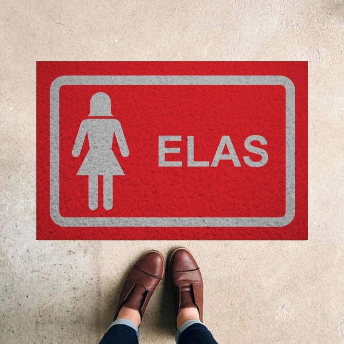 TAPETE CAPACHO ELAS