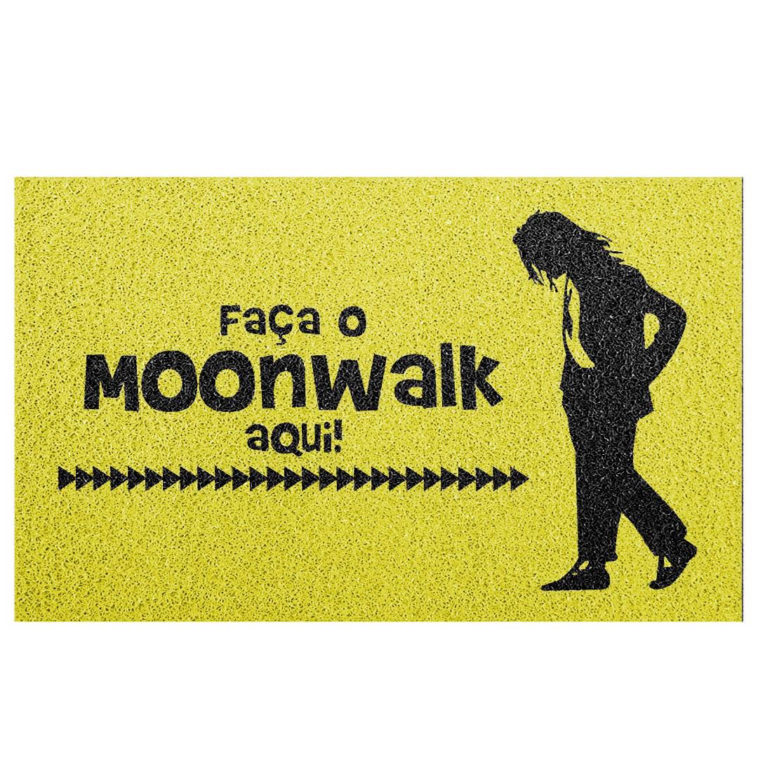 Tapete Capacho Faça O Moonwalk Aqui.
