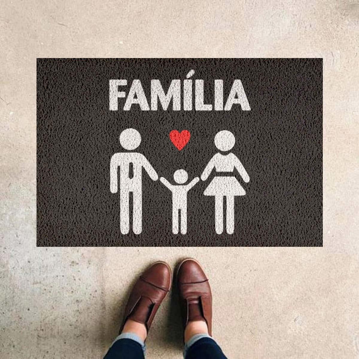 Tapete Capacho Familia