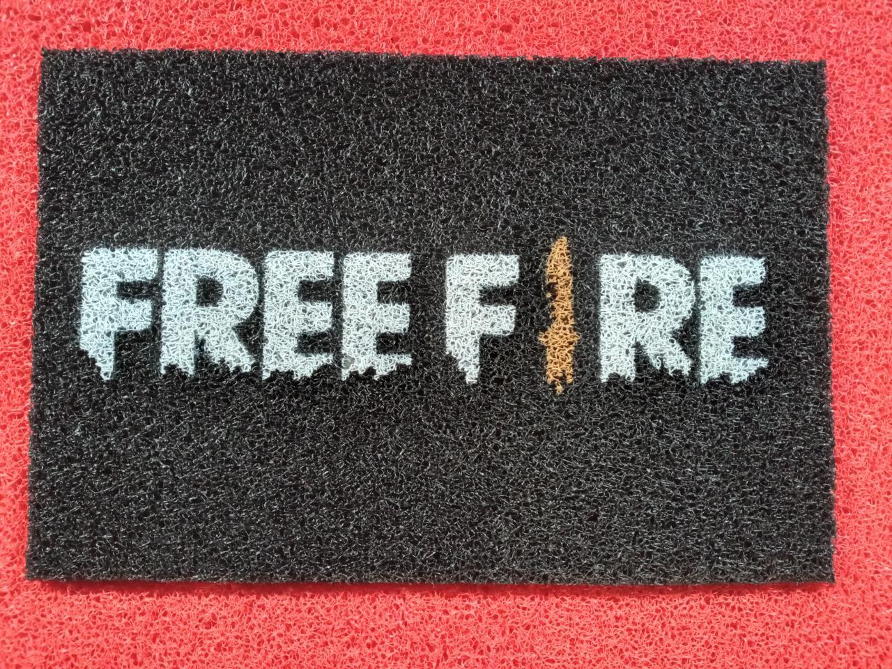 Tapete Capacho Free Fire