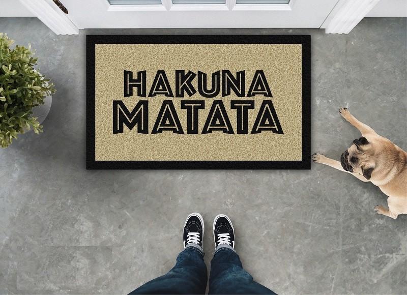 Tapete Capacho Hakuna Matata