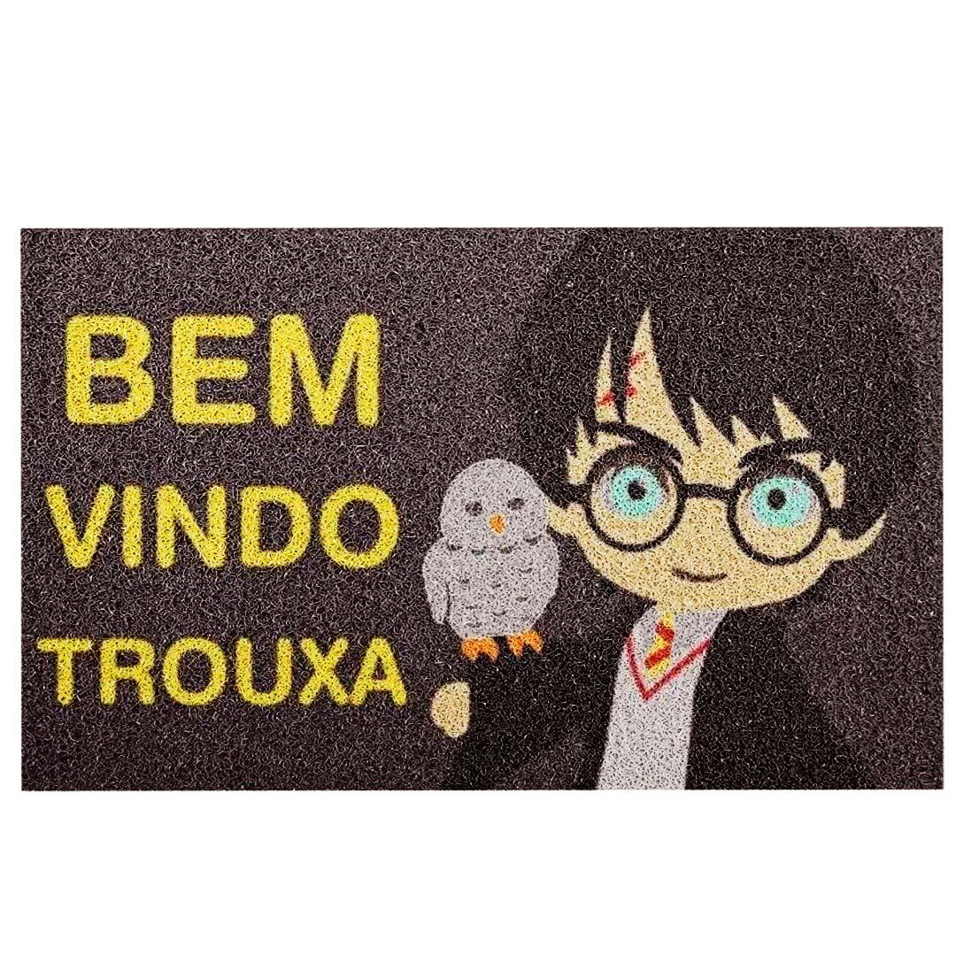 Tapete Capacho Harry Potter Bem Vindo Trouxa