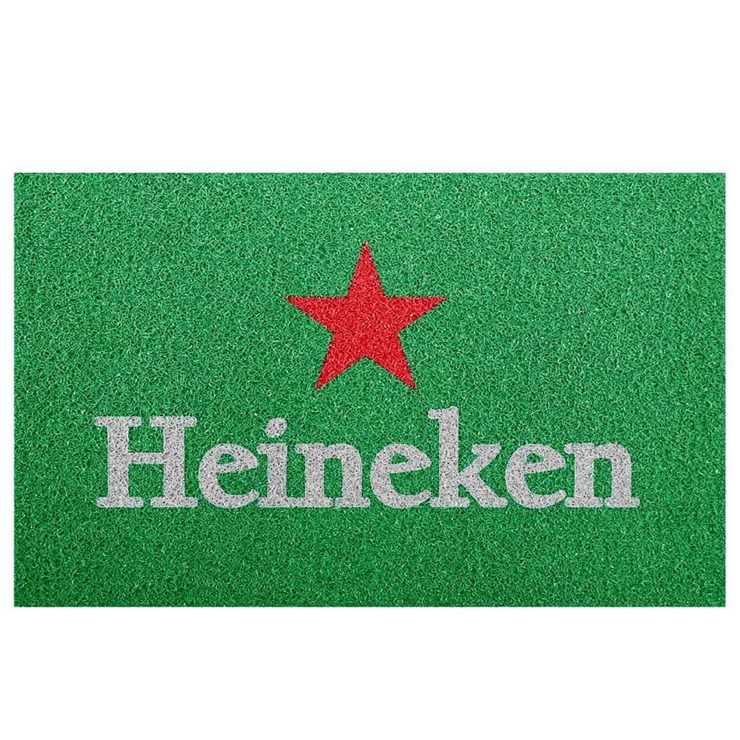 Tapete Capacho Heineken