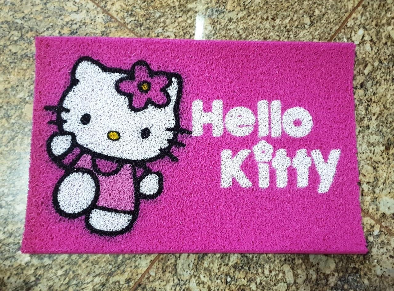 Tapete Capacho Hello Kitty