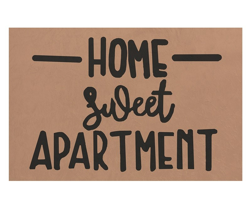TAPETE CAPACHO 'HOME SWEET APARTAMENT'