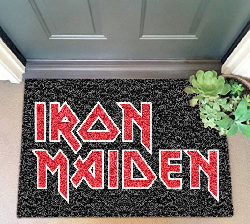 TAPETE CAPACHO IRON MAIDEN