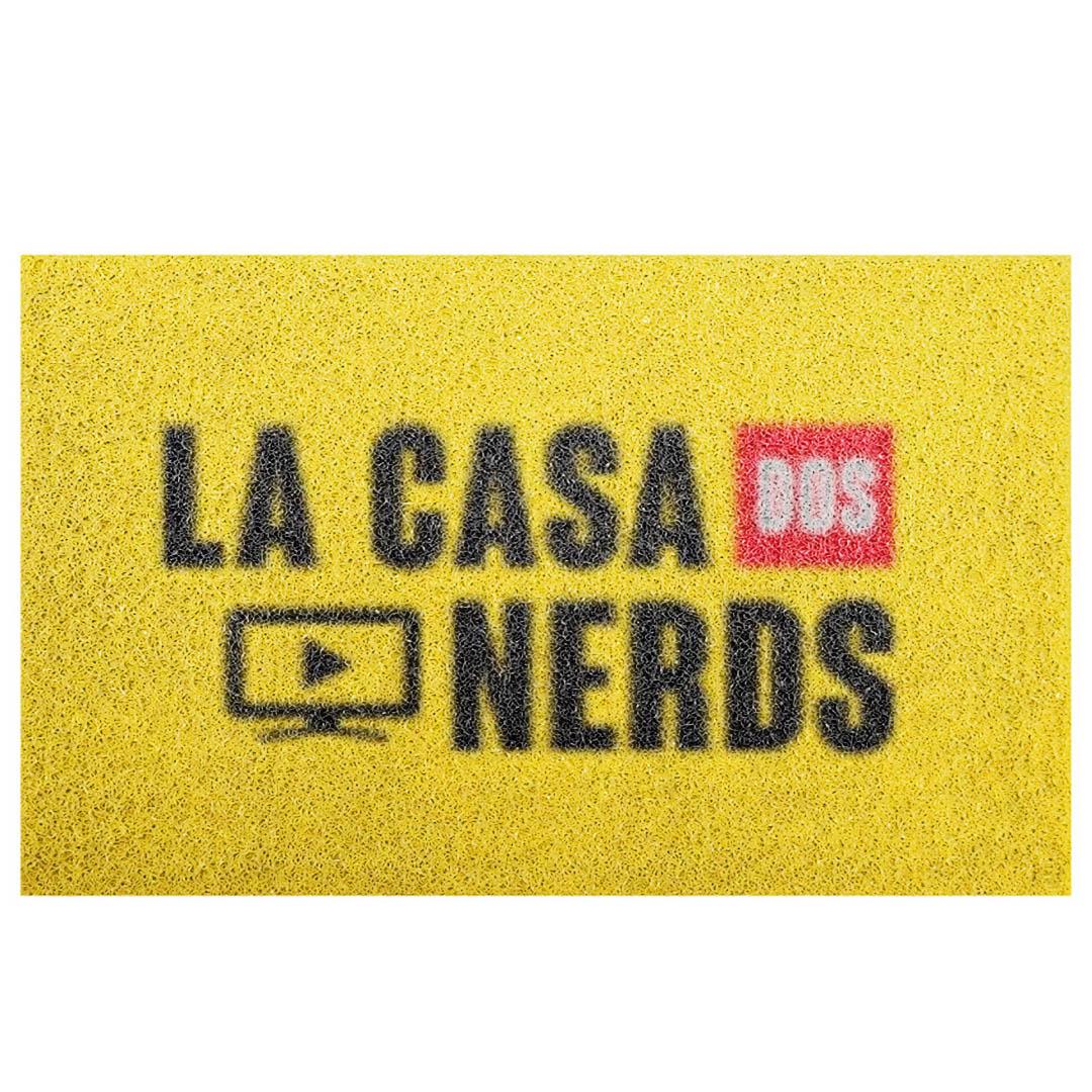 Tapete Capacho 'La Casa Dos Nerds''