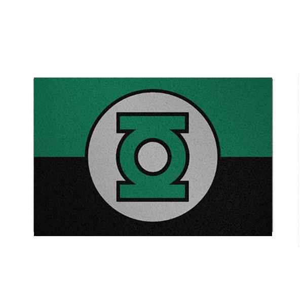 Tapete Capacho Lanterna Verde
