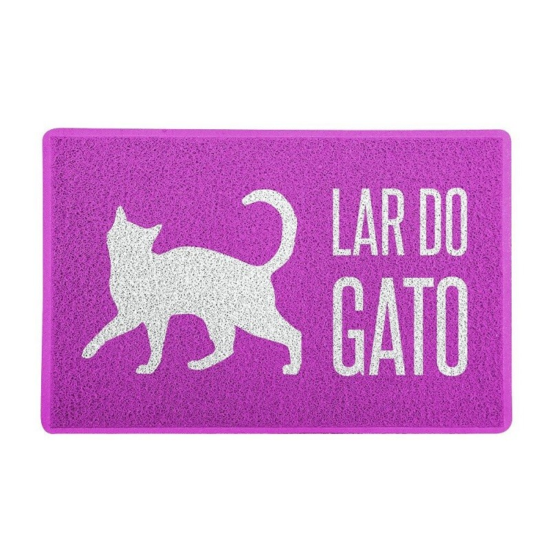 TAPETE CAPACHO  LAR DO GATO.