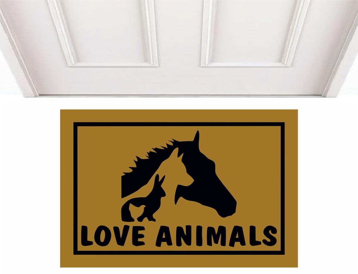 TAPETE CAPACHO LOVE ANIMALS