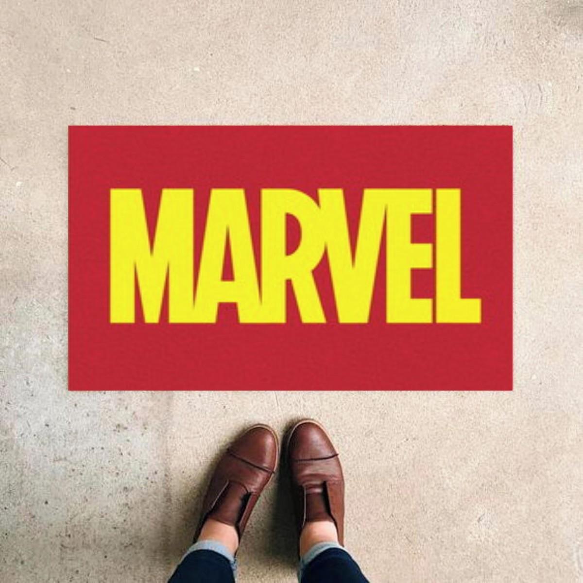 Tapete Capacho Marvel
