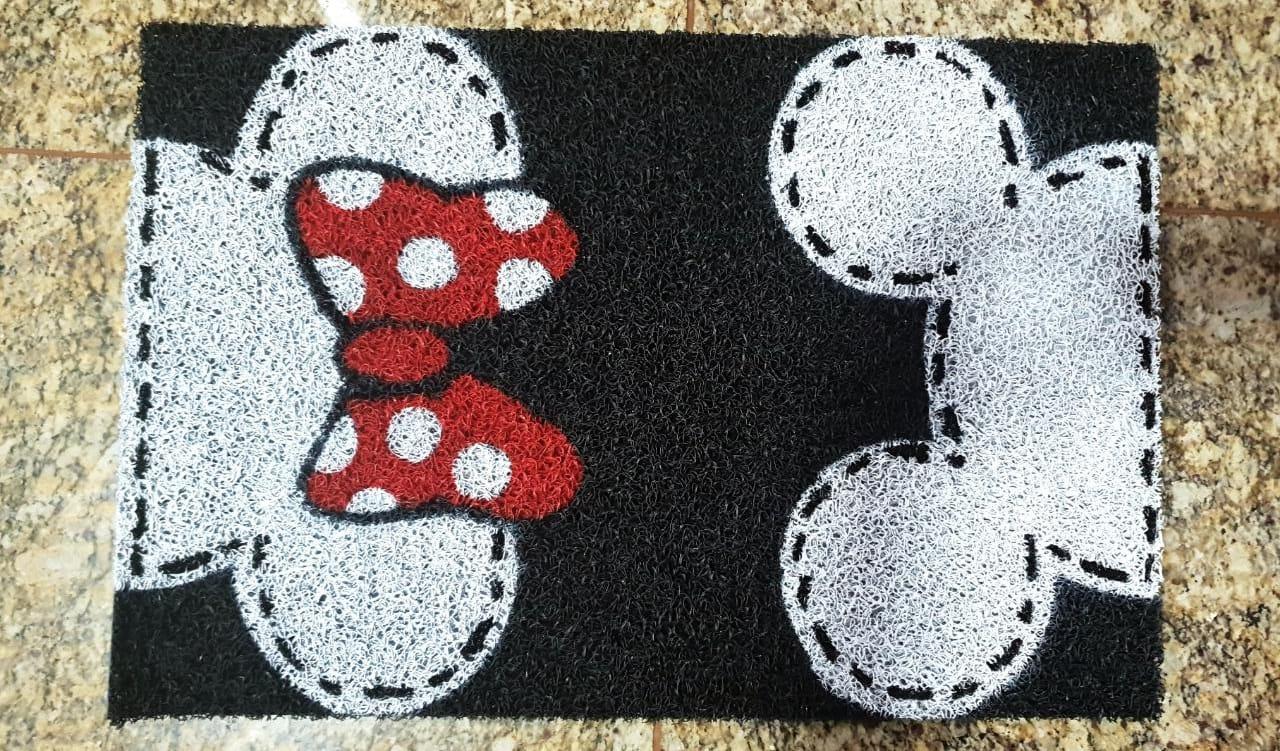Tapete Capacho Mickey E Minnie