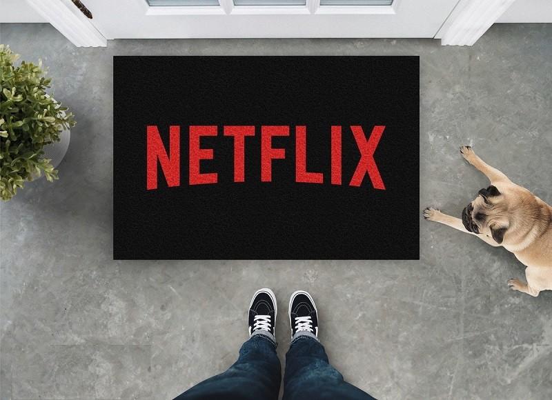 Tapete Capacho Netflix