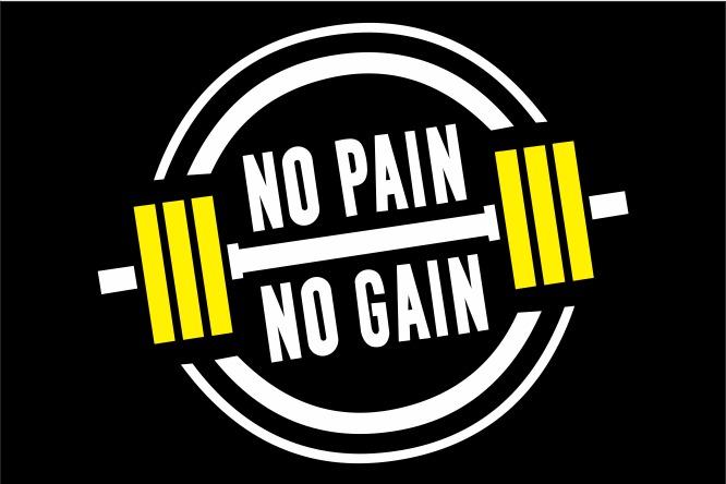 Tapete Capacho No Pain No Gain