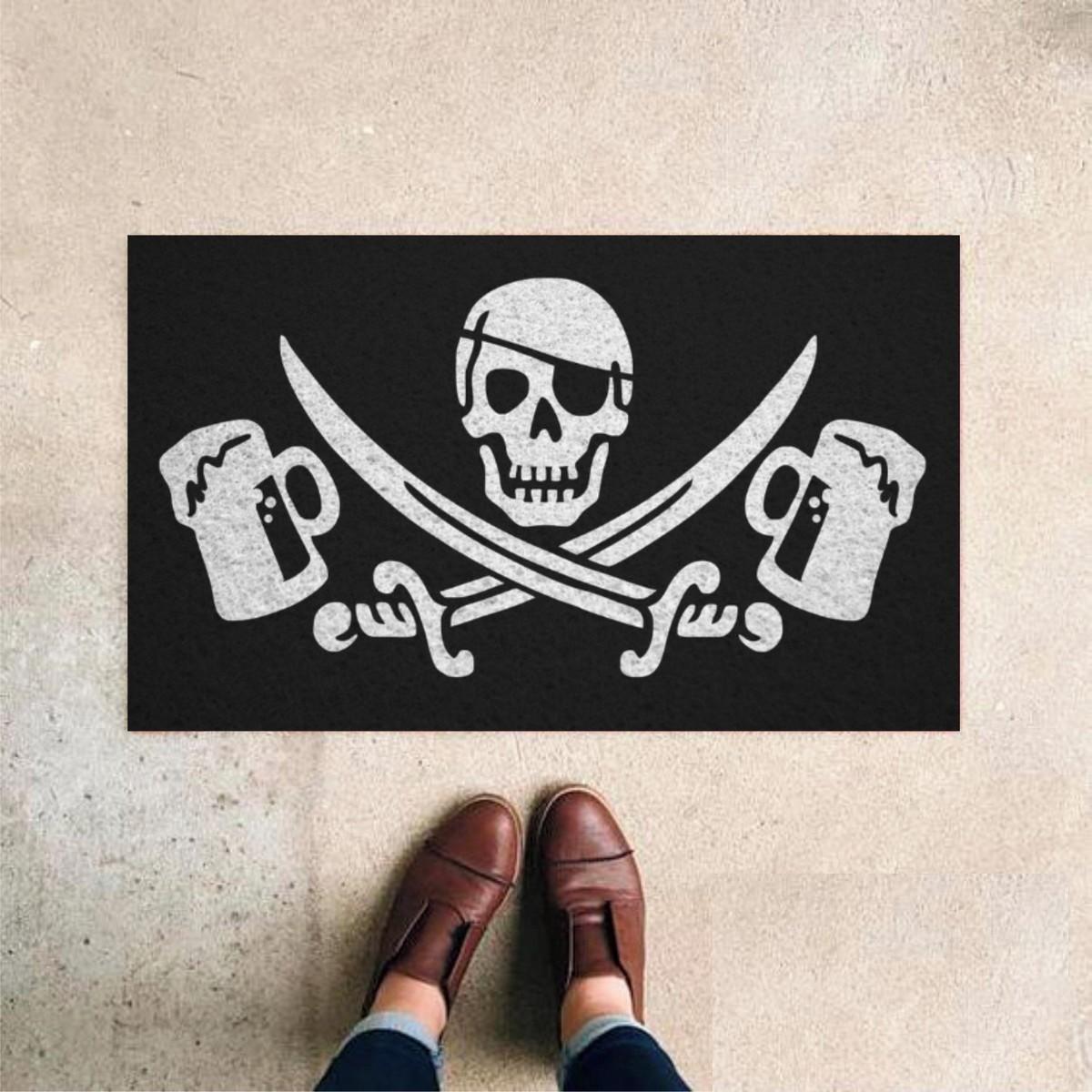 Tapete Capacho Pirata