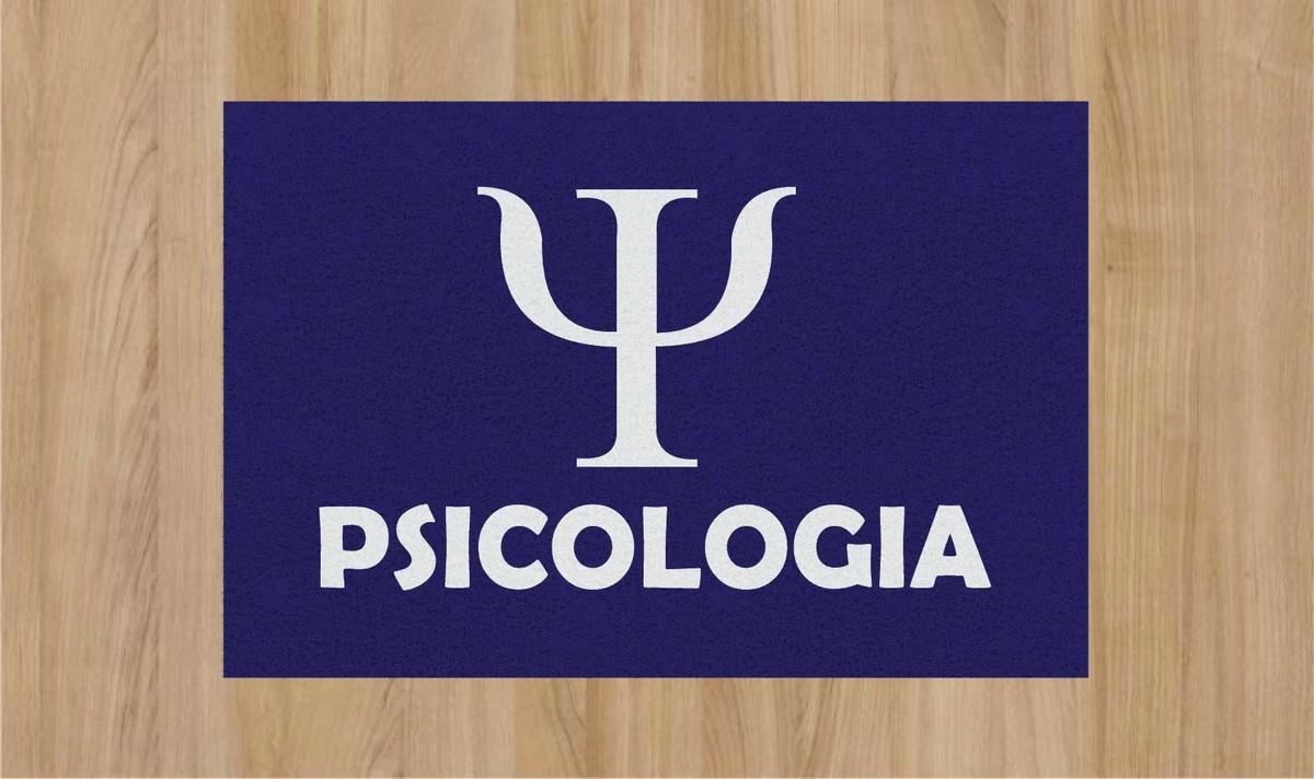 TAPETE CAPACHO PSICOLOGIA