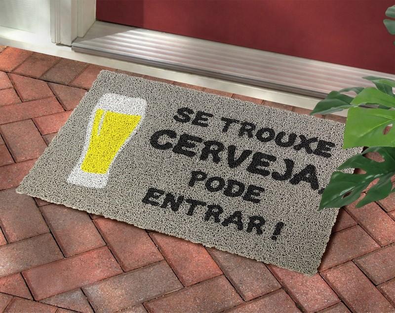 Tapete Capacho Se Trouxe Cerveja Pode Entrar