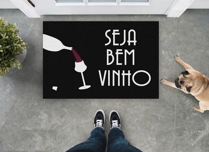 Tapete Capacho Seja Bem Vinho