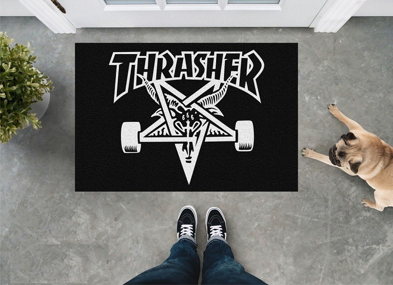 Tapete Capacho Skate Thrasher